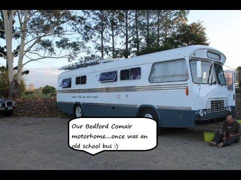 BEDFORD MOTORHOME – NEW LIFE ON THE ROAD