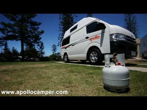 Campervan Hire Australia – Hitop part2 Show Through from Apollo Motorhomes